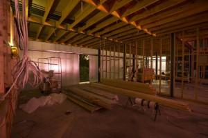 BIGBANG studio interior construction