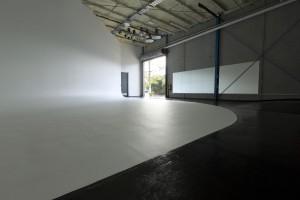 BIGBANG studio garage door access