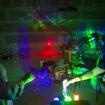 BIGBANG studio laser experiments